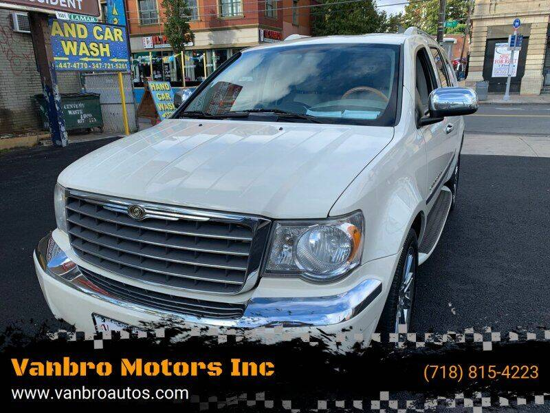 2008 Chrysler Aspen for sale at Vanbro Motors Inc in Staten Island NY