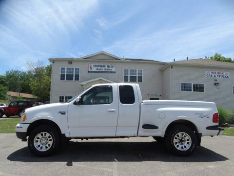 2003 Ford F-150 for sale at SOUTHERN SELECT AUTO SALES in Medina OH
