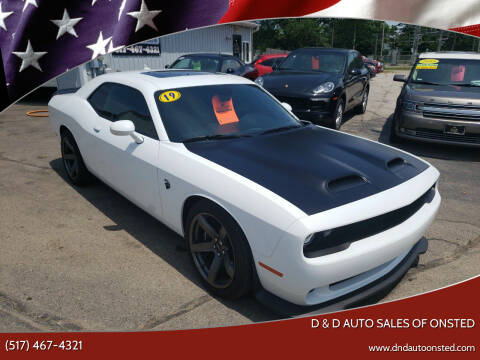 2019 Dodge Challenger for sale at D & D Auto Sales Of Onsted in Onsted   Brooklyn MI