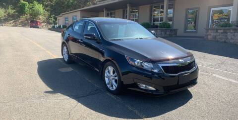 2013 Kia Optima for sale at WENTZ AUTO SALES in Lehighton PA