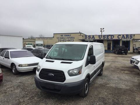 2015 Ford Transit Cargo for sale at BSA Used Cars in Pasadena TX