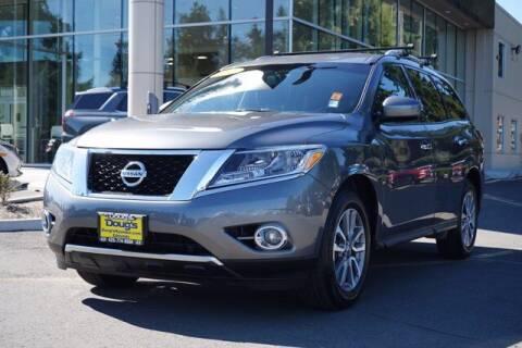 2016 Nissan Pathfinder for sale at Jeremy Sells Hyundai in Edmonds WA