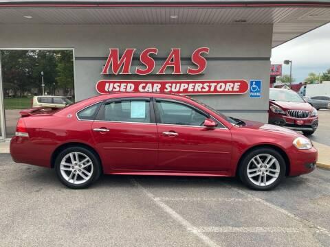 2013 Chevrolet Impala for sale at MSAS AUTO SALES in Grand Island NE