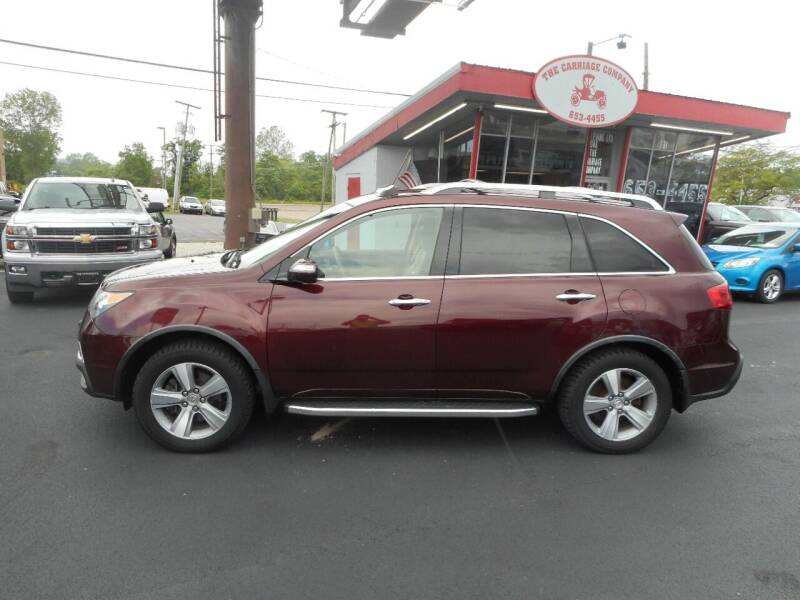 2012 Acura MDX for sale at The Carriage Company in Lancaster OH