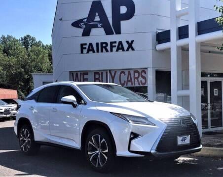 2016 Lexus RX 350 for sale at AP Fairfax in Fairfax VA