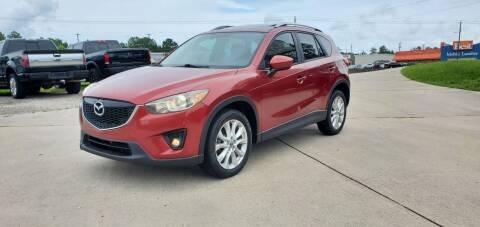 2013 Mazda CX-5 for sale at WHOLESALE AUTO GROUP in Mobile AL