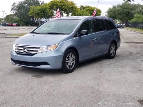 2011 Honda Odyssey for sale at United Auto Center in Davie FL