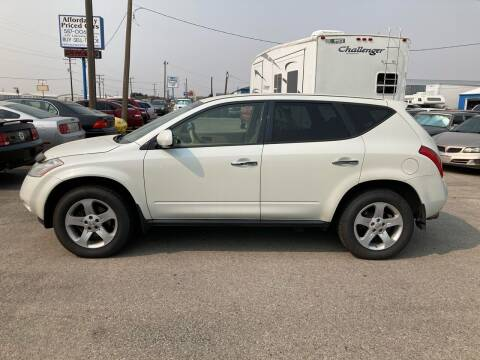 2003 Nissan Murano for sale at AFFORDABLY PRICED CARS LLC in Mountain Home ID