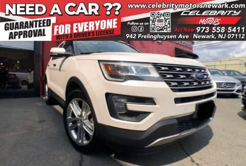 2016 Ford Explorer for sale at Celebrity Motors in Newark NJ