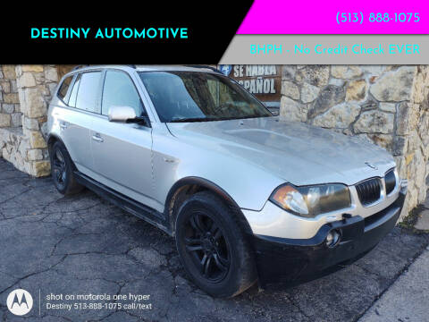 2005 BMW X3 for sale at DestanY AUTOMOTIVE in Hamilton OH