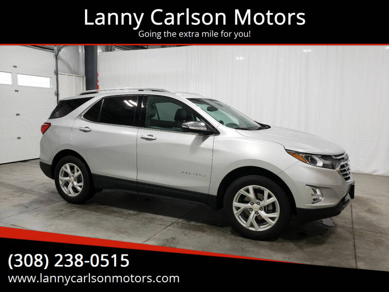 2020 Chevrolet Equinox for sale at Lanny Carlson Motors in Kearney NE