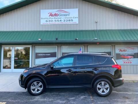 2015 Toyota RAV4 for sale at AutoSmart in Oswego IL