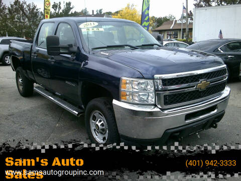 2011 Chevrolet Silverado 2500HD for sale at Sam's Auto Sales in Cranston RI