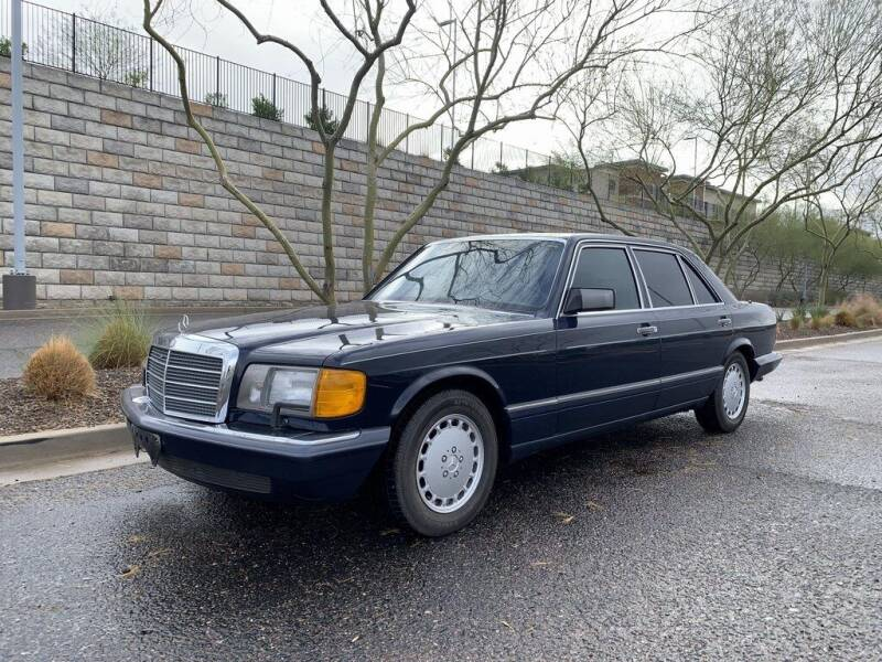 1989 Mercedes-Benz 560-Class for sale at AUTO HOUSE TEMPE in Tempe AZ