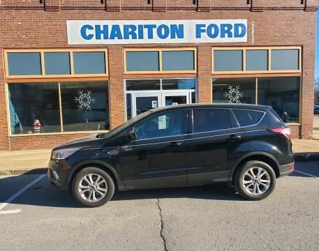 2017 Ford Escape for sale at Chariton Ford in Chariton IA