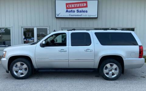 2010 Chevrolet Suburban for sale at Certified Auto Sales in Des Moines IA