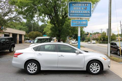 2015 Nissan Altima for sale at North Hills Motors in Raleigh NC