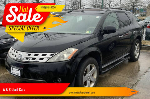 2005 Nissan Murano for sale at A & R Used Cars in Clayton NJ