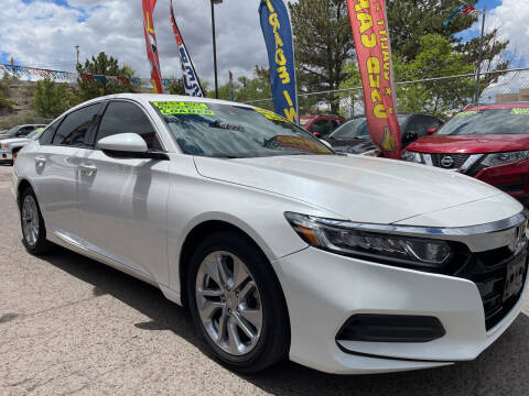 2018 Honda Accord for sale at Duke City Auto LLC in Gallup NM