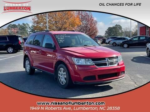 2016 Dodge Journey for sale at Nissan of Lumberton in Lumberton NC