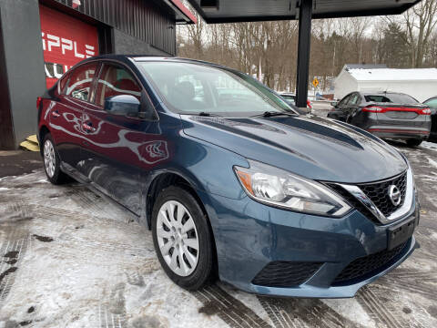 2017 Nissan Sentra for sale at Apple Auto Sales Inc in Camillus NY