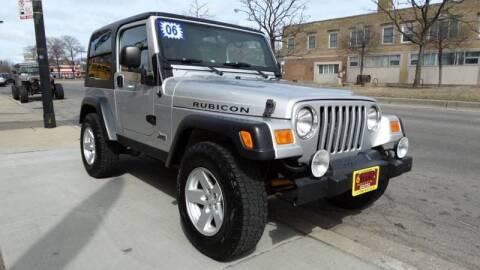 2006 Jeep Wrangler for sale at 6 STARS AUTO SALES INC in Chicago IL