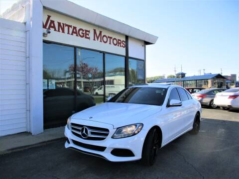2018 Mercedes-Benz C-Class for sale at Vantage Motors LLC in Raytown MO