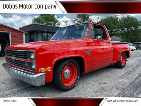 1984 Chevrolet C/K 10 Series for sale at Dobbs Motor Company in Springdale AR