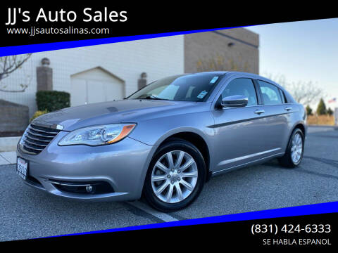 2013 Chrysler 200 for sale at JJ's Auto Sales in Salinas CA