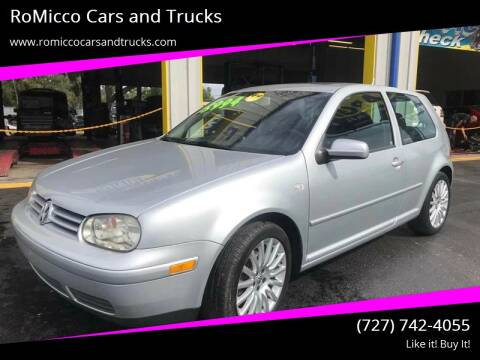 2005 Volkswagen GTI for sale at RoMicco Cars and Trucks in Tampa FL