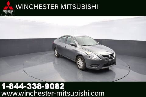 2018 Nissan Versa for sale at Winchester Mitsubishi in Winchester VA