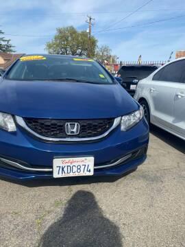 2015 Honda Civic for sale at Victory Auto Sales in Stockton CA