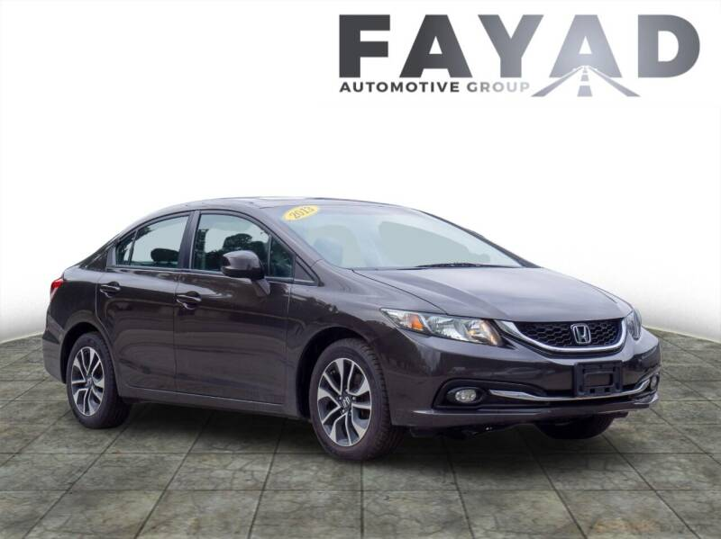 2013 Honda Civic for sale at FAYAD AUTOMOTIVE GROUP in Pittsburgh PA