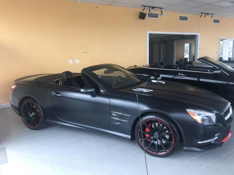 2016 Mercedes-Benz SL-Class for sale at Unix Auto Trade in Sleepy Hollow IL