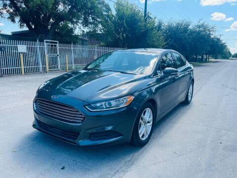 2016 Ford Fusion for sale at High Beam Auto in Dallas TX