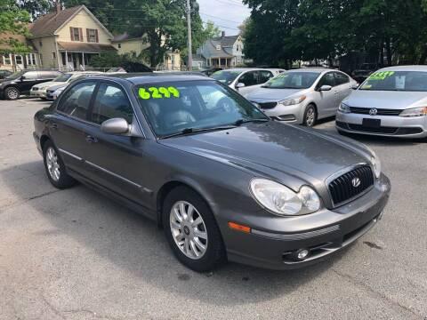 2004 Hyundai Sonata for sale at Emory Street Auto Sales and Service in Attleboro MA