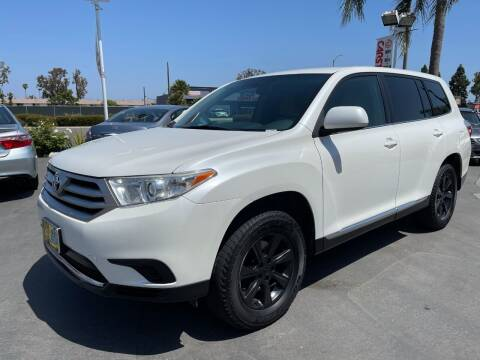 2013 Toyota Highlander for sale at CARSTER in Huntington Beach CA