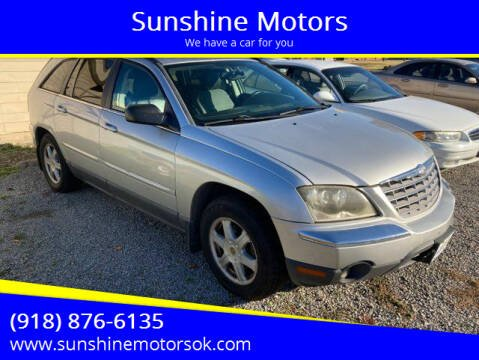 2004 Chrysler Pacifica for sale at Sunshine Motors in Bartlesville OK