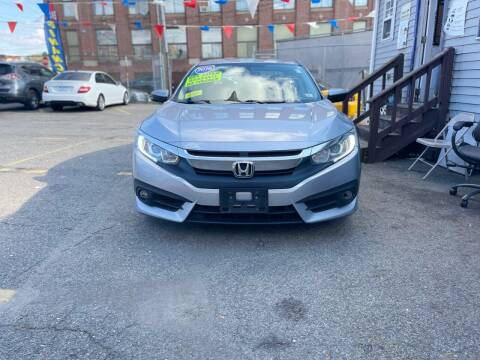 2016 Honda Civic for sale at Metro Auto Sales in Lawrence MA