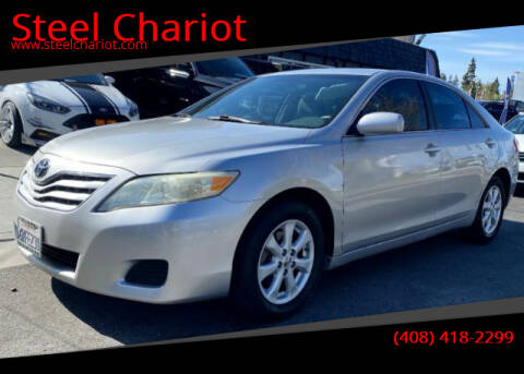 2010 Toyota Camry for sale at Steel Chariot in San Jose CA