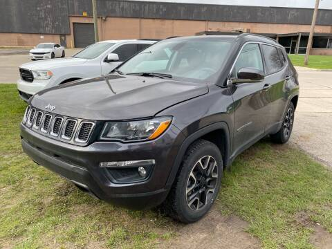 2018 Jeep Compass for sale at M-97 Auto Dealer in Roseville MI
