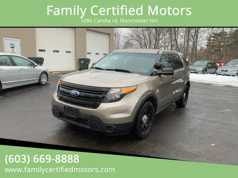 2014 Ford Explorer for sale at Family Certified Motors in Manchester NH