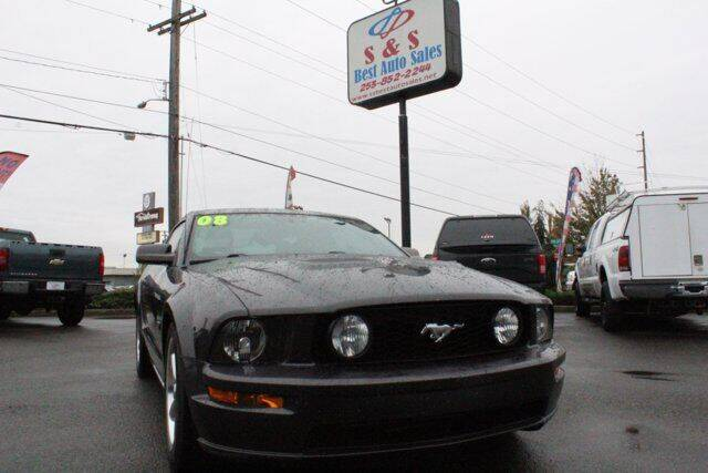 2008 Ford Mustang for sale at S&S Best Auto Sales LLC in Auburn WA