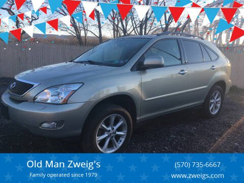 2009 Lexus RX 350 for sale at Old Man Zweig's in Plymouth Township PA