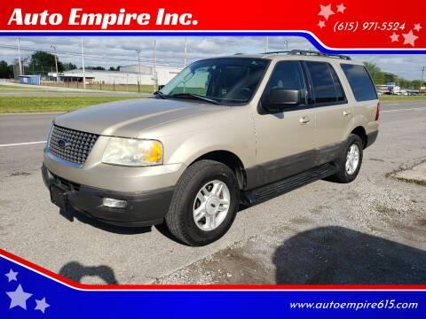 2005 Ford Expedition for sale at Auto Empire Inc. in Murfreesboro TN