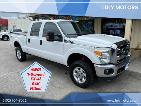 2015 Ford F-350 Super Duty for sale at Luly Motors in Lincoln NE