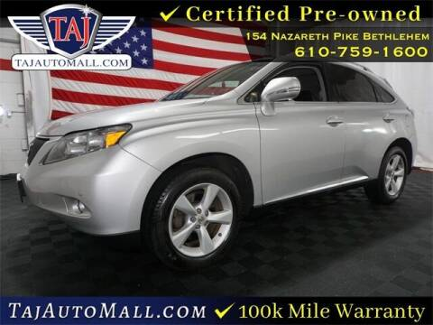 2012 Lexus RX 350 for sale at Taj Auto Mall in Bethlehem PA