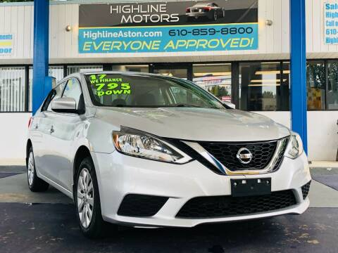 2017 Nissan Sentra for sale at Highline Motors in Aston PA