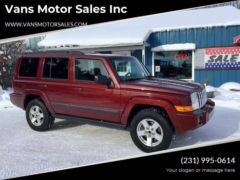2008 Jeep Commander for sale at Vans Motor Sales Inc in Traverse City MI