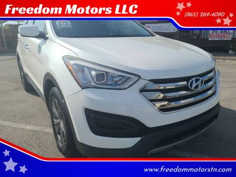 2013 Hyundai Santa Fe Sport for sale at Freedom Motors LLC in Knoxville TN